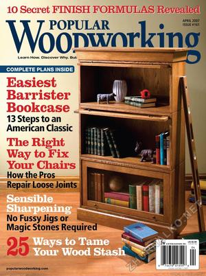 Popular Woodworking 2007-04 № 161