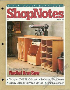 16 - Custonize Your Radial Arm Saw