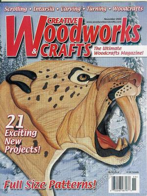 Creative Woodworks & crafts 2003-11