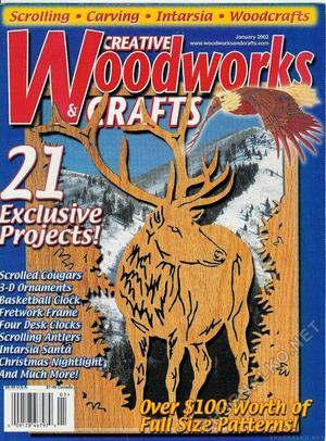 Creative Woodworks & crafts 2002-01